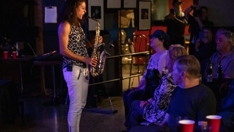 Vanessa Collier Struts Into Windsor Crowd With Soulful Sax and Blues Serenade