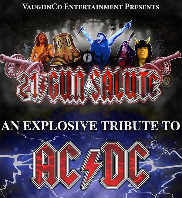 21 Gun Salute AC/DC Tribute Poster