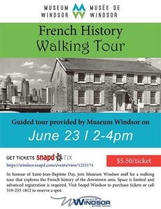 French History Walking Tour Poster