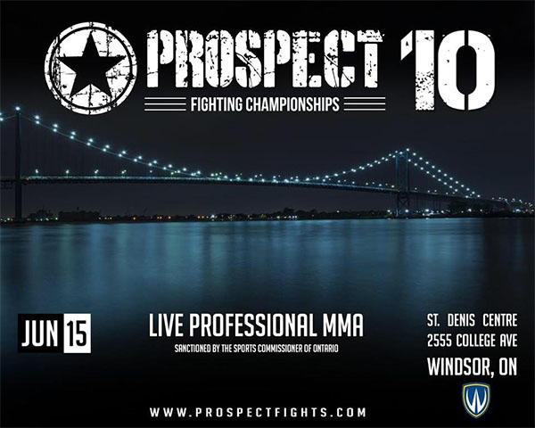 Prospect Fighting Championships 10 Poster