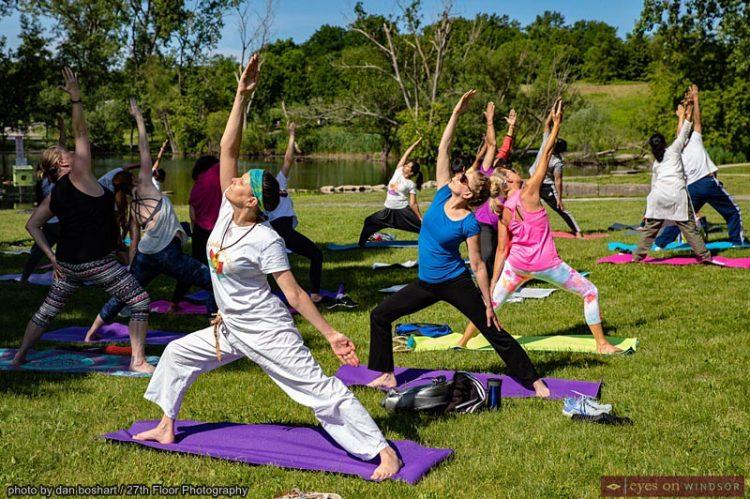 Windsor's 5th International Yoga Day Celebrates Mental & Physical Benefits