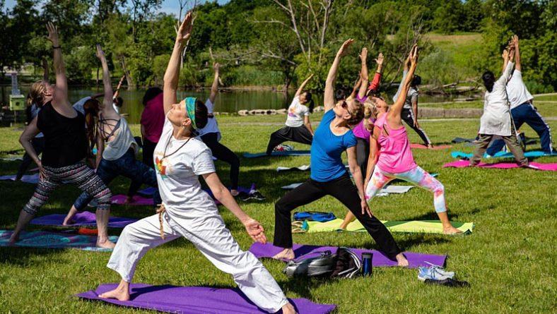 Windsor's 5th International Yoga Day Celebrates Mental & Physical Benefits
