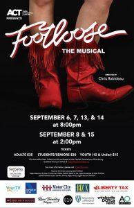 Footloose Act Windsor Poster