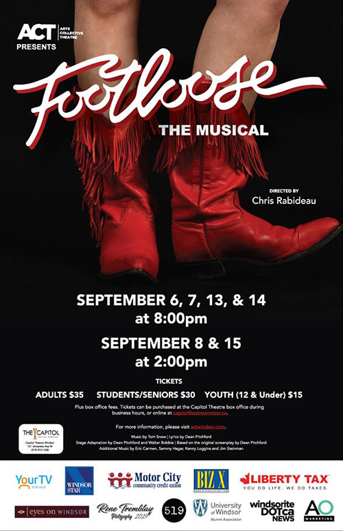 Footloose Act Windsor Poster