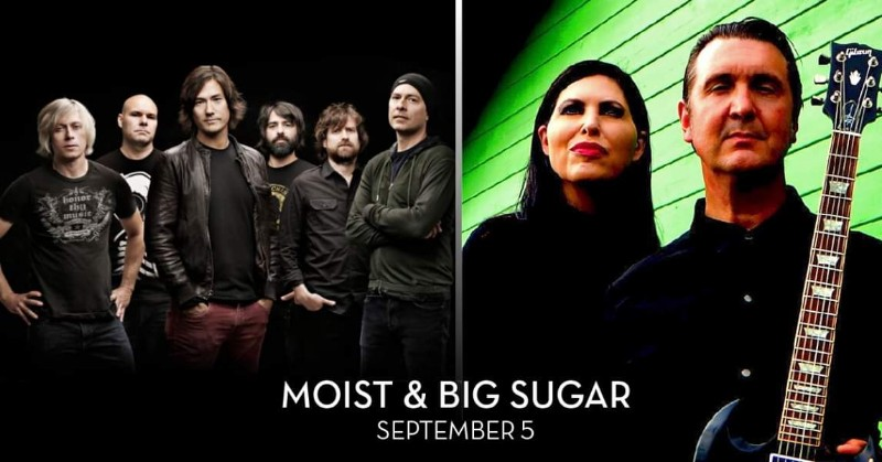 Moist & Big Sugar at Caesars Windsor
