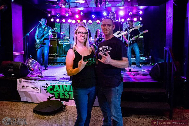 Cainerfest organizers Andrea Milne and David Milne