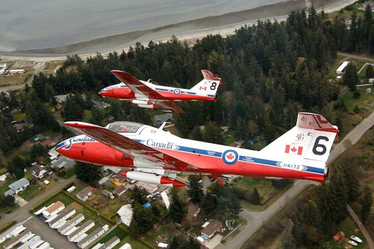 Snowbirds Soaring Into Windsor Airport Thursday, Public Invited to Attend