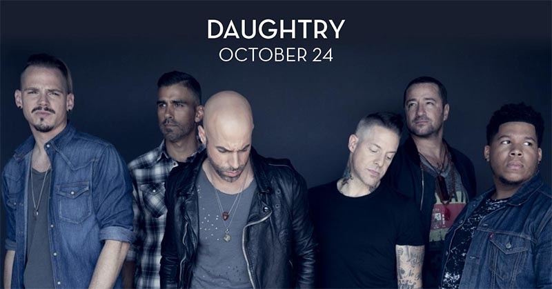 Daughtry Concert Caesars Windsor
