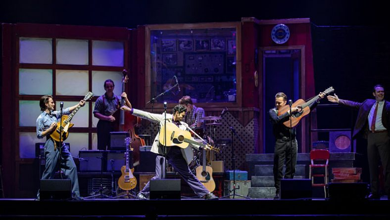 Million Dollar Quartet Recounts Famous Jam Session of 4 Iconic 1950s Musicians