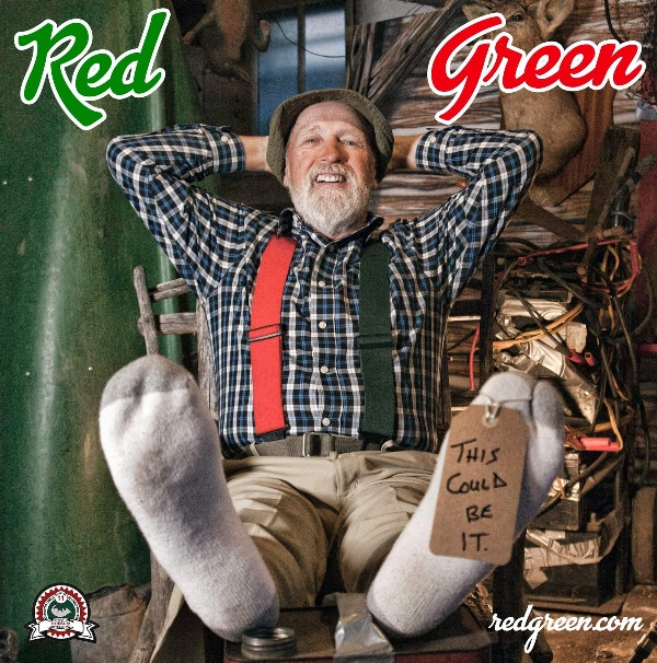 Red Green (Steve Smith) Poster