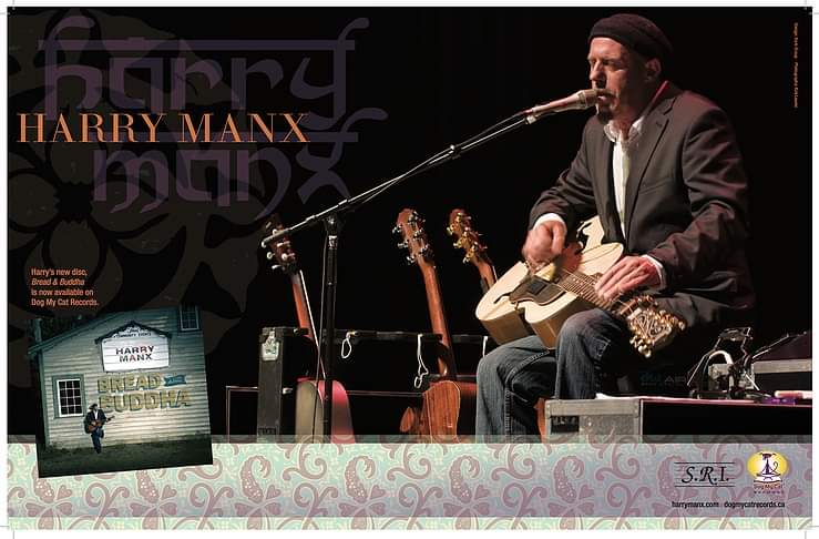 Harry Manx Road To Folk Fest Concert