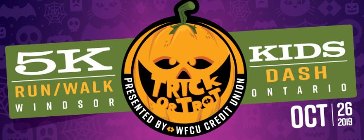 WFCU Credit Union Trick or Trot Run / Walk Poster