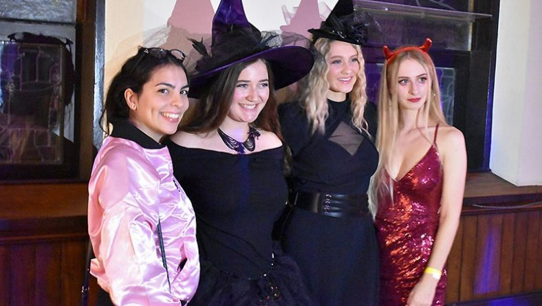 Water's Edge Halloween Charity Bash Brings Out the Best Costumes