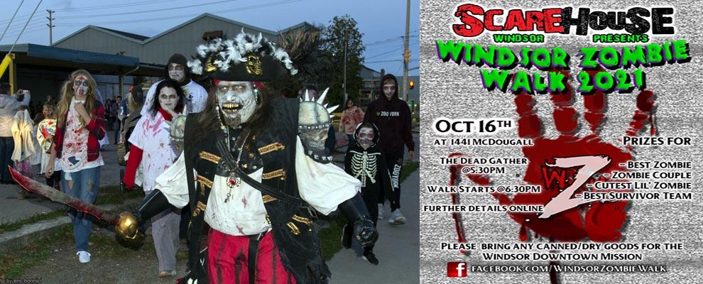 Windsor Zombie Walk Ad Slider