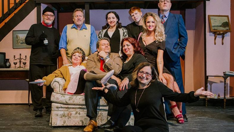 Hilarious Farce Noises Off Loudly Becomes Bank Theatre's Opening Play