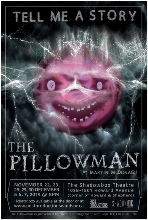 The Pillowman Presented by Post Productions Windsor Poster