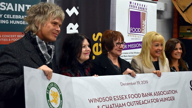 S'Aints Sleighing Hunger Concert Raises Record Breaking $75,267 For Food Banks