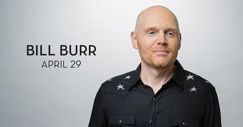 Comedian Bill Burr Caesars Windsor