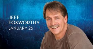 Stand-Up Comedian Jeff Foxworthy at Caesars Widnsor