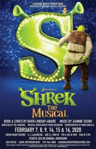 Cardninal Music Productions Shrek The Musical Poster (Windsor)