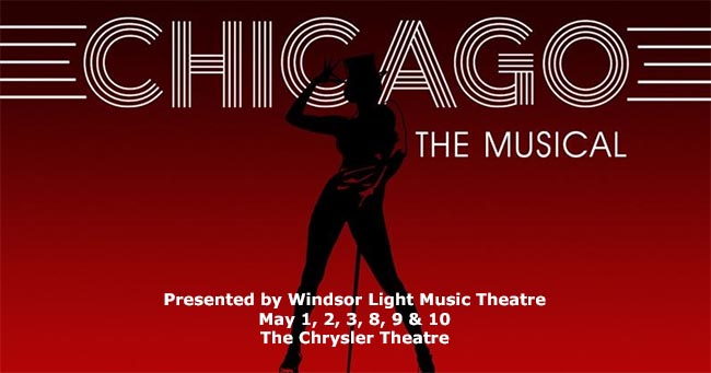 Chicago The Music Poster Windsor Light Music Theatre