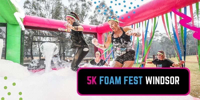 5K Foam Fest Windsor Poster
