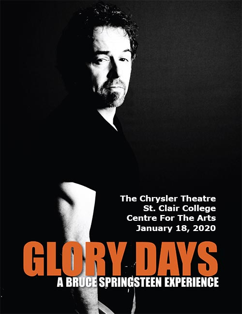 Glory Days: The Bruce Springsteen Experience Dinner & Show Poster