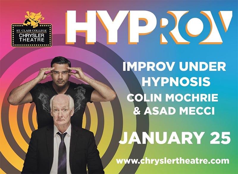 Hyprov: Improv Under Hypnosis Chrysler Theatre Poster