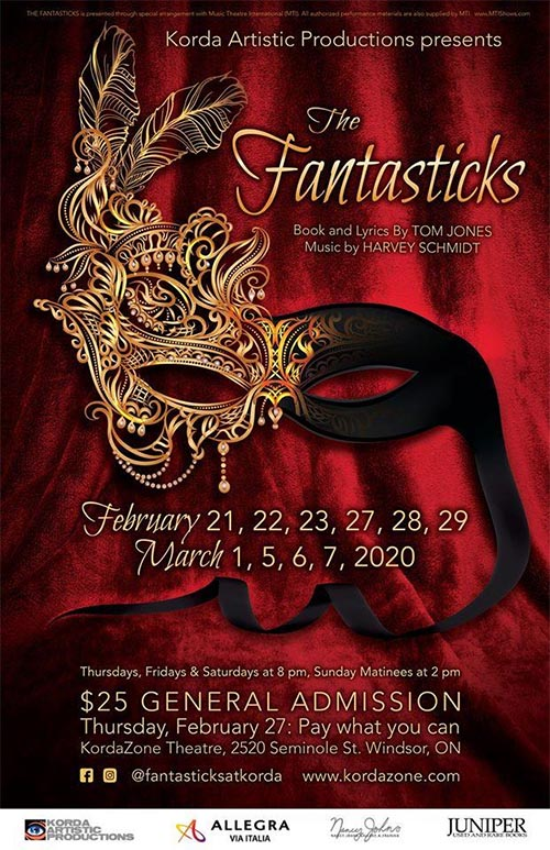 The Fantasticks Poster | Kordazone Theatre
