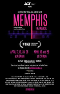 Memphis The Musical Poster | ACT Windsor