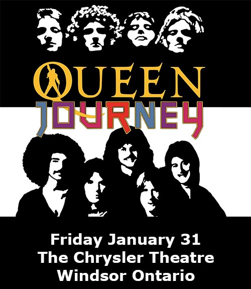 Queen & Journey: Jeans 'n Classics and Windsor Symphony Orchestra Poster