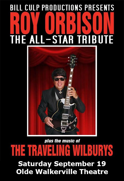 Roy Orbison: The All-Star Tribute Poster Olde Walkerville Theatre