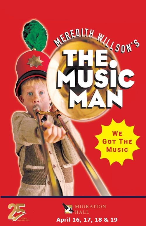 The Music Man Poster Migration Hall
