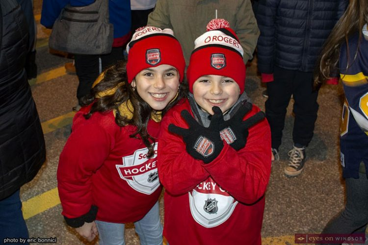 Hometown Hockey Parade of Champions in LaSalle Filled With Jerseys Signs & Smiles