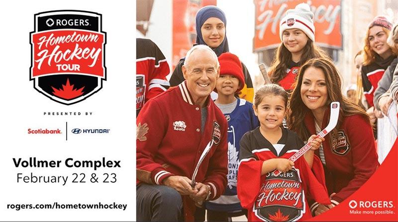 Rogers Hometown Hockey Poster Lasalle Ontario