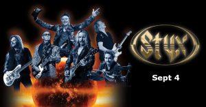 Styx Concert Caesars Windsor