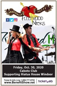 Fleetwood Nicks & Practically Petty Tribute Show Windsor Poster