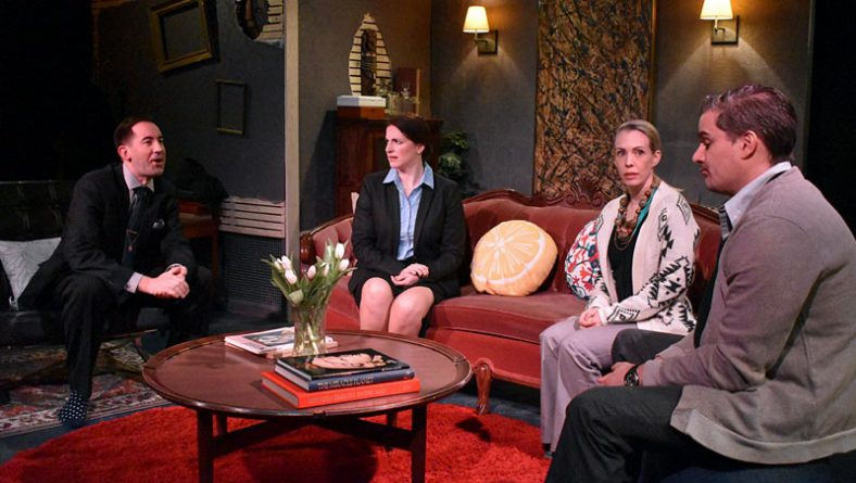 Ghost Light Players Tackle God of Carnage Ahead of Drama League Festival