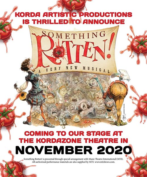 Something Rotten Korda Artistic Productions Poster