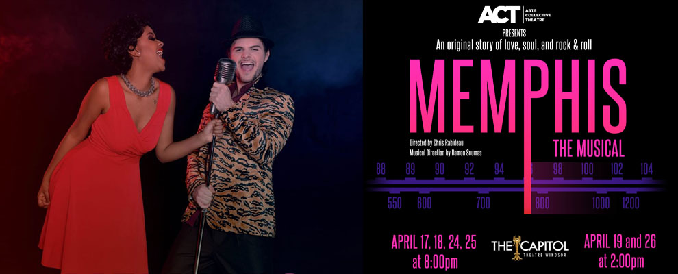 ACT Windsor Memphis The Musical Banner