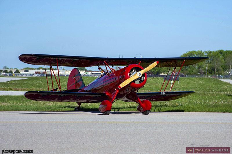 WACO YFM Biplane CH2A Windsor Airport