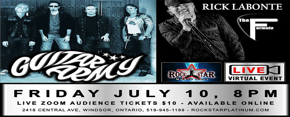 Guitar Army and Rick Labonte The Formula RockStar Music Hall