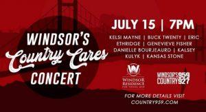 Windsor's Country Cares Concert Kelsi Mayne