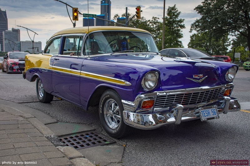 Vintage Vehicle Ouellette Car Cruise