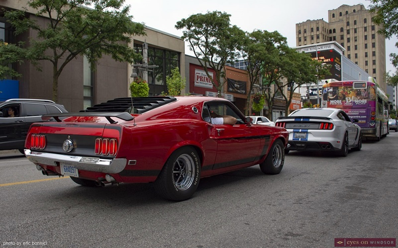 Mustangs Ouellette Car Cruise