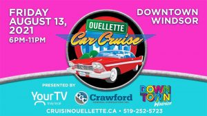 Ouelette Car Cruise 2020 Poster