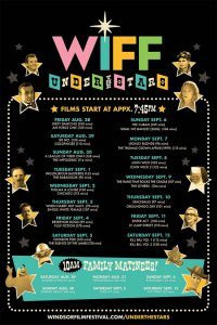 WIFF Under The Stars Schedule Poster