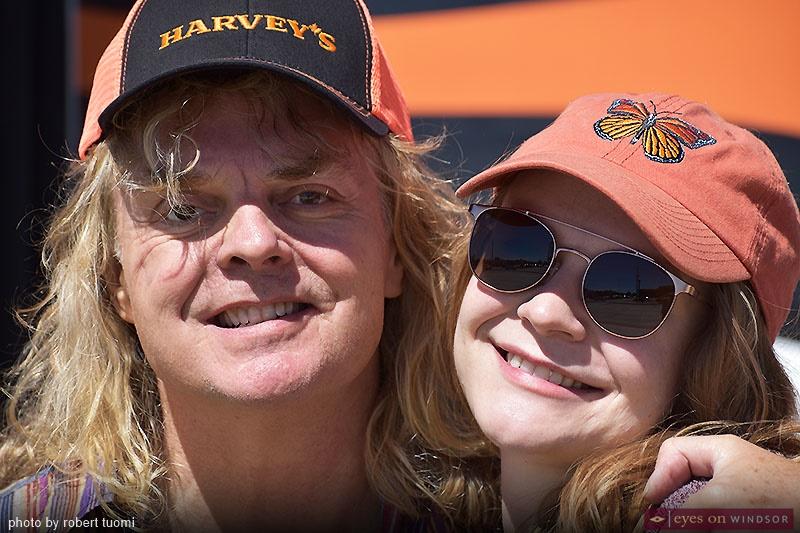 Carl Dixon and Lauren Dixon