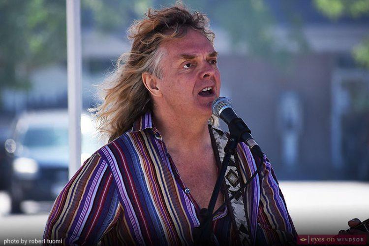 Canadian Music Icon Carl Dixon & Harvey's Thanks Burgers Hit Windsor
