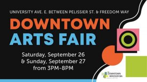 Downtown Windsor Arts Fair